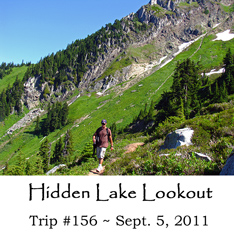 Trip 156 Hidden Lake Lookout 09-05-2011