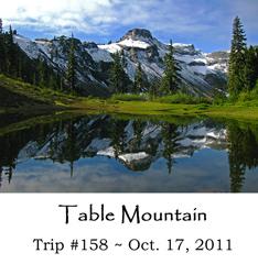 Trip 158 Table Mtn 10-17-2011