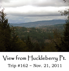 Trip 162 Huckleberry Point 11-21-2011