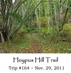 Trip 164 Hoypus Hill 11-29-2011