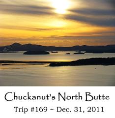Trip 169 Chuckanuts North Butte 12-31-2011