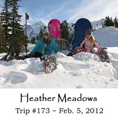 Trip 173 Mt. Baker Heather Meadows