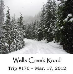 Trip 176 Wells Creek