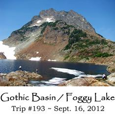 Trip 193 Gothic Basin
